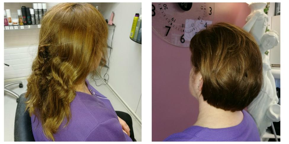 Klassinen hiustenleikkaus